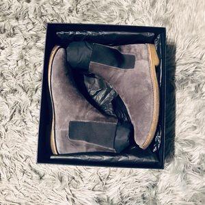 YSL Men's Suede Chelsea Boots